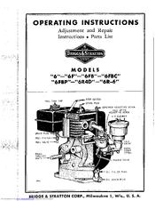 Briggs Amp Stratton 6 Manuals