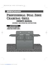 brinkmann 810 3240 0 manuals rh manualslib com Brinkmann 4 Burner Gas Grill Brinkmann 4 Burner Gas Grill