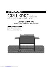 brinkmann grill king deluxe 810 3200 0 manuals rh manualslib com Brinkmann Smoker Parts Brinkmann Company