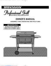 brinkmann 810 3214 0 manuals rh manualslib com Brinkmann Grills Brinkmann Company