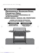brinkmann 810 3214 s manuals rh manualslib com Brinkmann Constructors Home Depot Brinkmann Gas Grill