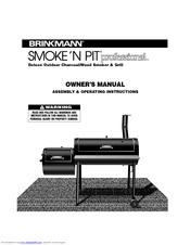 brinkmann smoke n pit manuals rh manualslib com Brinkmann Charcoal Smoker Grill Brinkmann Constructors