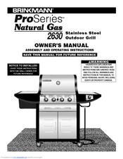 brinkmann proseries 2630 manuals rh manualslib com Brinkmann Smoker Parts Brinkmann Constructors