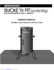 brinkmann smoke n pit smoke king manuals rh manualslib com