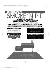 brinkmann smoke n pit 810 3040 w manuals rh manualslib com