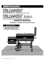 brinkmann stillwater charcoal wood smoker grill manuals rh manualslib com Brinkmann Grills Brinkmann Charcoal Smoker Grill