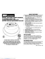 brk electronic sc6120b manuals rh manualslib com brk electronics sc6120b replacement BRK Electronics 4120B False Alarms