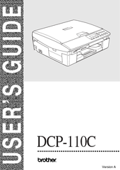 Brother DCP-110C User Manual