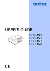 Brother DCP-150C Manuals