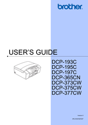 Brother DCP-193C User Manual