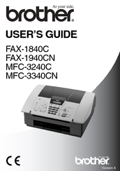 Brother MFC MFC-3340CN User Manual