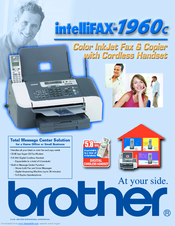 Brother 1960C - IntelliFAX Color Inkjet Brochure