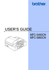 brother mfc 5460cn manuals rh manualslib com manual impresora brother mfc 3360c Refill Brother MFC 3360C