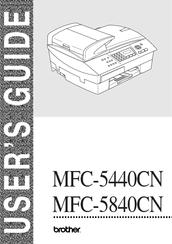 brother mfc mfc 5840cn manual pdf download rh manualslib com Brother MFC 5440CN Manual USB Printer Brother MFC 5440CN