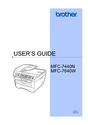brother mfc 7440n manuals rh manualslib com brother mfc 7440n manual pdf brother mfc 7440n parts manual