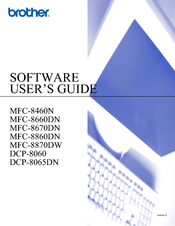 Brother mfc-8670dn manuals.