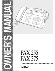 Brother FAX-275 Brother FAX-275 Monochrome Thermal Transfer Fax