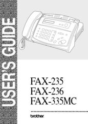 Brother fax 236s инструкция