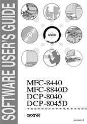 Brother DCP-8045D Software User's Manual