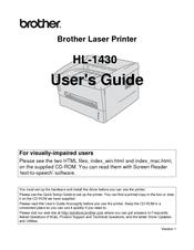 BROTHER LASERPRINTER HL-1430 DRIVER FREE