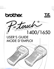 Brother P-touch 1400 User Manual