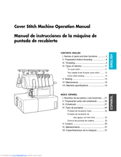 Brother 2340CV Operation Manual