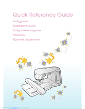 Brother 882-U71 Quick Reference Manual