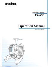 brother pr 650 manuals rh manualslib com