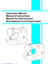 Brother LS-1520 Instruction Manual