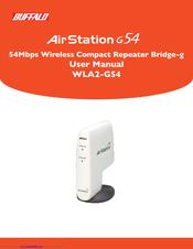 buffalo airstation g54 wla2 g54 manuals rh manualslib com Buffalo Router Support Buffalo Wireless