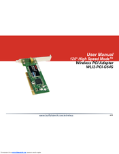 BUFFALO WLI2-PCI-G54S WINDOWS 10 DRIVERS