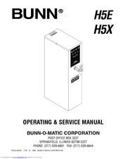 bunn h5e h5x manuals. Black Bedroom Furniture Sets. Home Design Ideas