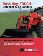 BUSH HOG TOUGH COMPACT & AG LOADERS BROCHURE & SPECS Pdf