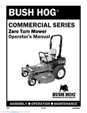 Bush Hog Commercial Series Manuals