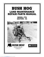BUSH HOG FTH 480 REPAIR PARTS Pdf Download