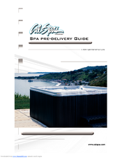 Cal Spas Avalon A844L Pre-delivery Manual