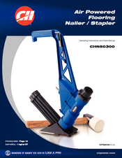 campbell hausfeld air powered flooring nailer stapler chn50300 manuals rh manualslib com campbell hausfeld finish nailer manual campbell hausfeld 2 in 1 nailer stapler manual