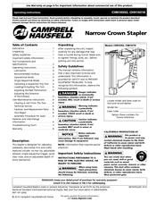 campbell hausfeld chn10310 operating instructions manual pdf download