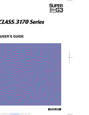 Canon 3175 Series User Manual