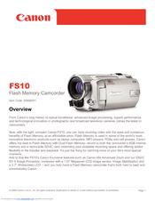 canon fs10 manuals rh manualslib com canon fs10 manual download Casio FS10