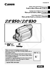 Canon DIM-787 Instruction Manual