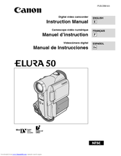 canon elura 50 manuals rh manualslib com Canon Elura 40 Transfer Cables Canon Elura 60 Camcorder