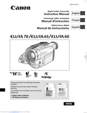 Canon Elura 65 Instruction Manual