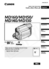 CANON MD160 DRIVER PC