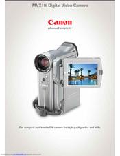 Canon DV camera MVX10i XP