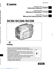 canon dc220 manuals rh manualslib com Charger for Canon DC-10 DVD Camcorder