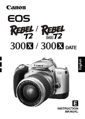 canon 300x instruction manual pdf download rh manualslib com Owners Manual Canon Canon T2i Manual