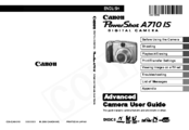 Canon PowerShot A710 IS Advanced User's Manual