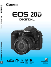 canon ds126061 instruction manual pdf download rh manualslib com Canon Camera User Manual canon powershot d20 user manual
