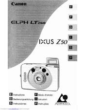 Canon Elph LT 260 - Elph LT 260 Zoom APS Camera Manuals